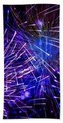 Beautiful Fireworks  3 Beach Towel