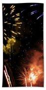 Beautiful Fireworks 5 Beach Sheet