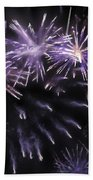 Beautiful Fireworks 7 Beach Towel