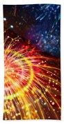 Beautiful Fireworks 8 Beach Sheet