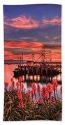 Beautiful Harbor Beach Towel