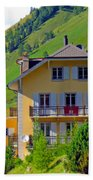 Beautiful House In Mont Blanc Beach Towel