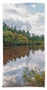 Beautiful Lake Reflections Beach Towel