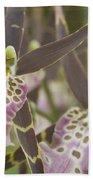 Beautiful Mtssa. Shelob 'tolkien' - Orchids - Mericlone  Beach Towel