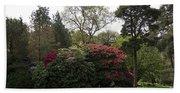 Beautiful Muckross Gardens In Spring Beach Towel
