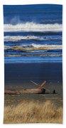 Beautiful Ocean Shores Beach Towel