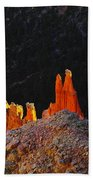Beautiful Pinnacles At Bryce Canyon Beach Towel