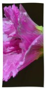 Beautiful Purple Flower Beach Towel