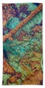 Beautiful Rebar Hot Springs Beach Towel