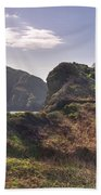 Beautiful  Sark One Of The  Channel Islands Beach Towel