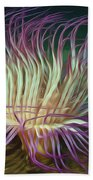 Beautiful Sea Anemone 1 Beach Towel by Lanjee Chee