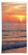 Beautiful Sunset Beach Towel