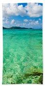 Beautiful Turquoise Water Beach Towel