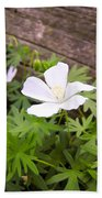 Beautiful Wild Geranium Beach Towel