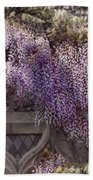 Beautiful Wisteria Beach Sheet