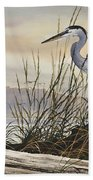 Beauty Along The Shore Beach Towel