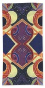Beauty In Symmetry 1 - The Joy Of Design X X Arrangement Beach Towel