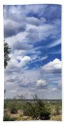 Beauty In The Sky Beach Towel