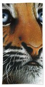 Beauty Of My Mother's Eyes Beach Towel