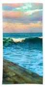 Beauty Of The Pier Beach Towel