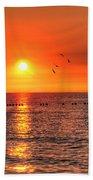 Beauty Sunset Beach Towel