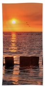Beautyful Sunset Beach Towel