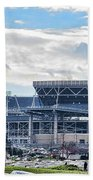 Beaver Stadium Game Day Beach Towel