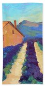 Bedoin - Provence Lavender Beach Towel