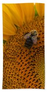 Bee Business Beach Towel