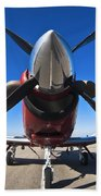 Beechcraft T-6a Texan II  Beach Towel