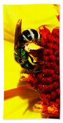#beegreen Beach Towel