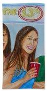 Beer Pong Champs Beach Towel