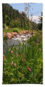 Bees Eye View Beach Towel
