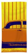 Beetle Pop Gold Beach Towel