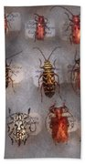 Beetles - The Usual Suspects  Beach Towel by Mike Savad