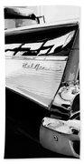 Bel Air Bw Palm Springs Beach Towel by William Dey