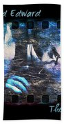 Bella And Edward - The Icy Kiss Beach Towel