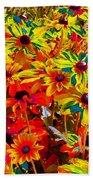 Bella Flora Painting Beach Towel