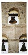 Bells Of Mission San Diego Beach Towel