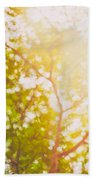 Beneath A Tree  14 5199   Diptych  Set 1 Of 2 Beach Towel