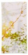Beneath A Tree  14 5199  Diptych  Set 2 Of 2 Beach Towel by Ulrich Schade