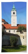 Benedictine Abbey Beach Towel