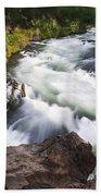 Benham Falls - Oregon Beach Towel