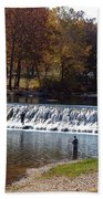 Bennett Springs Spillway Beach Towel