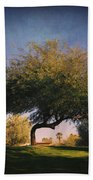 Bent But Not Broken Beach Towel by Laurie Search