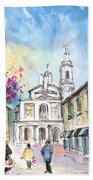 Bergamo Lower Town 01 Beach Towel