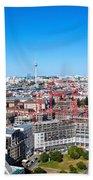 Berlin Panorama Beach Towel