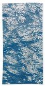 Bermuda Blues Beach Towel by Luke Moore