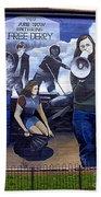 Bernadette Devlin Mural Beach Towel
