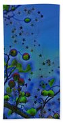 Berry Sky Magic By Jrr Beach Towel